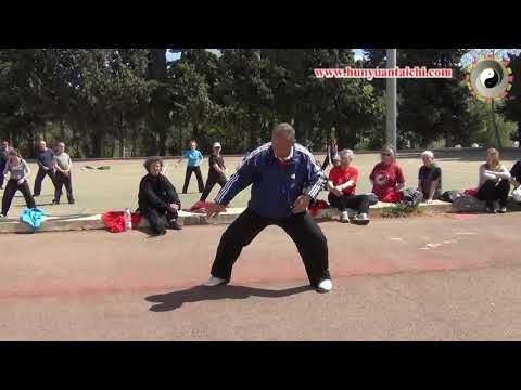 Forma de 24 con el maestro Chen Xiang