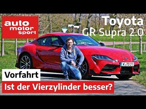 Toyota GR Supra 2.0: Ist der Vierzylinder der bessere Kauf? -  Fahrbericht/Review | auto motor sport