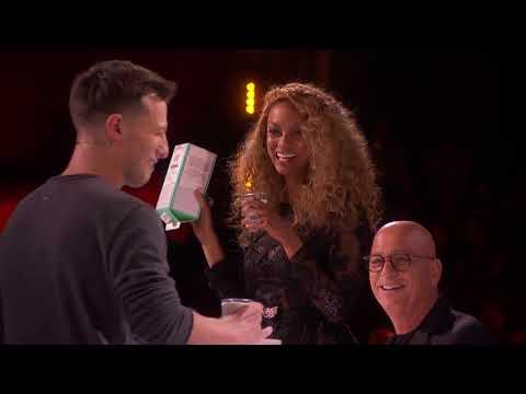 America s Got Talent 2017 Matt Franco Quarter Finals Results S12E18 (видео)