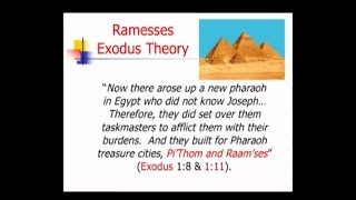 Timeline Part 2   Ramesses Exodus Theory
