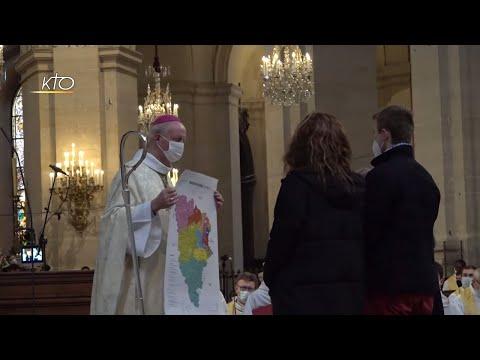 L'installation du nouvel évêque de Versailles