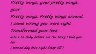 pretty wings by maxwell lyrics by claire