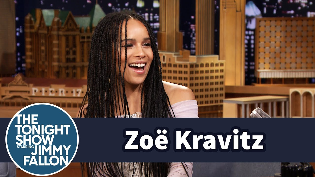 Zoë Kravitz's Famous Dad Picked Jimmy Up from the Airport thumbnail