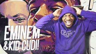 Kid Cudi & Eminem - The Adventures Of Moon Man & Slim Shady (REACTION!!!)