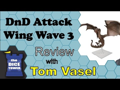 DnD Attack Wing Wave 3 Review