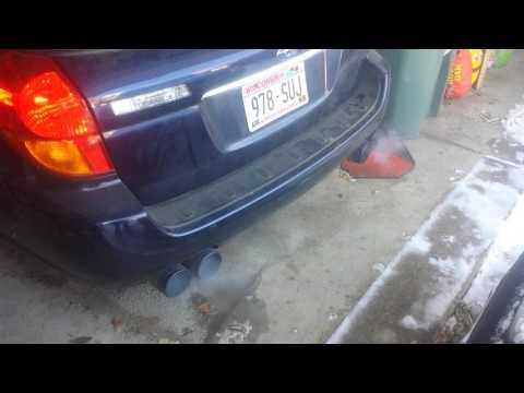 Invidia wrx exhaust on legacy wagon