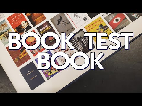 The Amazing Locked and The Book Test Book by Jim Kleefeld