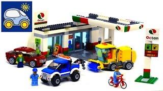 Лего Заправка и Автомастерская 60132. Лего 2016 2 полугодие. Картонка