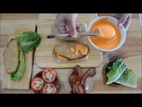 Tasty de Sandwich de pollo y cheddar