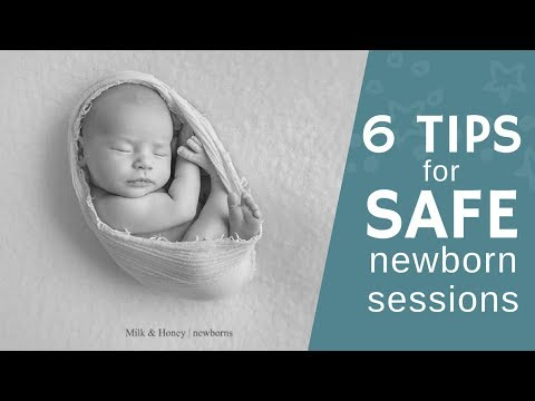 40 Newborn Photo Ideas for Boys & Girls at Home or Studio