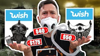 I Bought All The MASKS On Wish!!