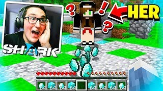 I Gifted HER this.. and she started CRYING... (Minecraft)