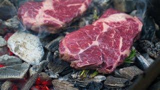 Мясо в углях!?