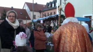 preview picture of video 'Christkindlmarkt 2011 in Pressath'