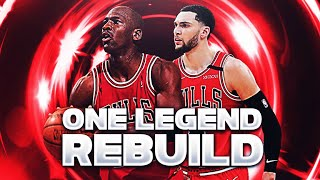 I Added One Legend To Every Team and it Broke The NBA...