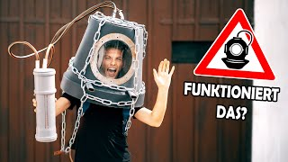 We built a DIVING BELL from a FLOWER POT! (RISK OF DEATH do not try this at home!) with subtitles