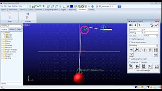 Cable System Tutorial in ADAMS/VIEW ! Modelling and simulation of simple cable system in ADAMS !