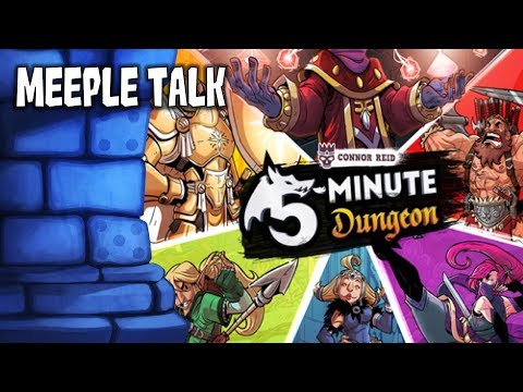 5-Minute Dungeon Review with Meeple Talk
