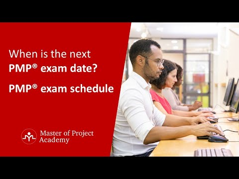 When is the next PMP® exam date - PMP® exam schedule ...