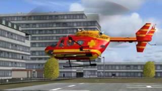 Medicopter 117 - D-HECE - BK 117 B2 Rescue Mission FS