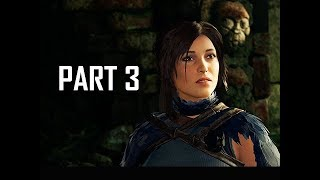 Shadow of the Tomb Raider Walkthrough Part 3 - Howling Caves (Let's Play Gameplay Commentary)
