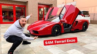 MY FIRST TIME DRIVING IN JAPAN WAS A FERRARI ENZO!