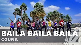 BAILA BAILA BAILA by Ozuna | Zumba | Latin Pop | TML Crew Kramer Pastrana