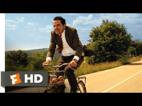 Mr. Bean's Holiday (4/10) Movie CLIP - Bike Ride (2007) HD