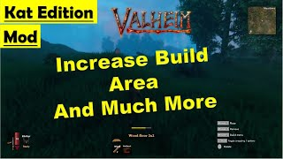 Valheim Kat Edition Mod - Increase Build Area - and More - How to Install and Gameplay