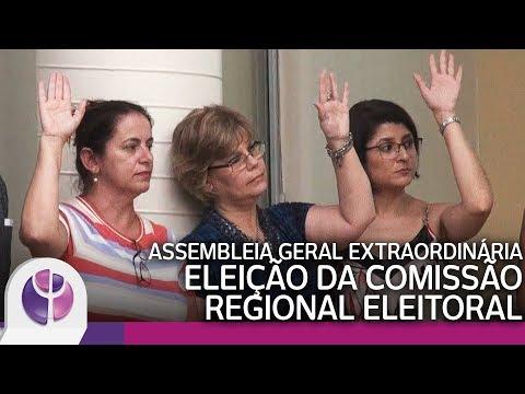 Assembleia Geral Extraordinária - Eleição da Comissão Regional Eleitoral