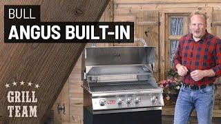 Bull Angus Built-In - Top Einbaugrill mit 4+1 Brennern für höchste Ansprüche   Vorstellung & Test