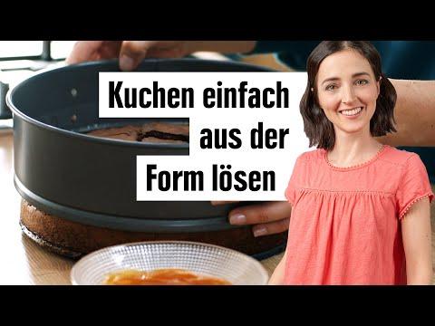 Kuchen aus der Form lösen   Kuchenform sicher entfernen   EDEKA