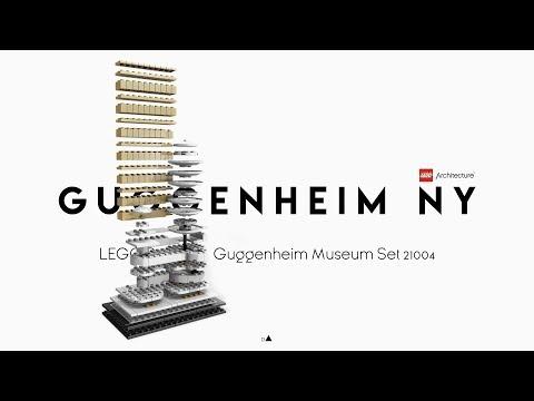 Vidéo LEGO Architecture 21004 : Le musée Solomon R. Guggenheim