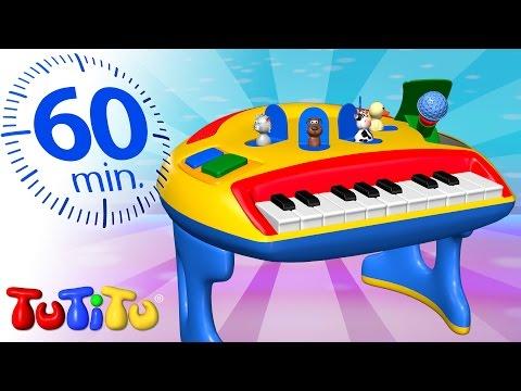 Compilacion TuTiTu en español   Piano   Y otros juguetes educativos   1 Hora Compilacion