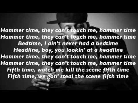 Lecrae - Hammer Time ft. 1k phew (Lyrics)