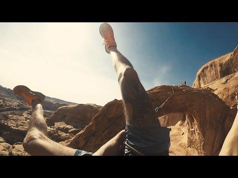 INSANE 150ft ROPE SWING JUMP |  4K