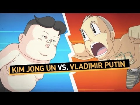 Kim Čong-un vs. Putin