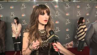 Juliet Simms   After Roxanne Performance   The Voice Season 2 Top 24