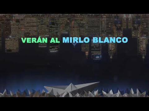 Shinova - Mirlo Blanco (Lyric Video)