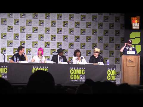 Syfy The Great Debate - John Barrowman, Orlando Jones, Aisha Tyler, Adam Savage