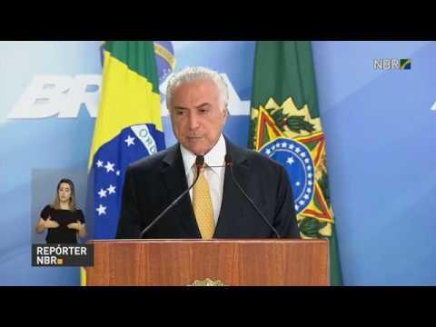 Presidente Michel Temer decreta intervenção federal na segurança do Rio de Janeiro