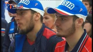 Сборная команда России по паратхэквондо на сборах в Хасавюрте