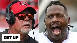 There is history between Antonio Brown and Bruce Arians   Get Up