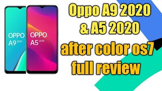 oppo A9 2020 after color os7 update Full review || oppo A5 2020 after color os7 full review ||