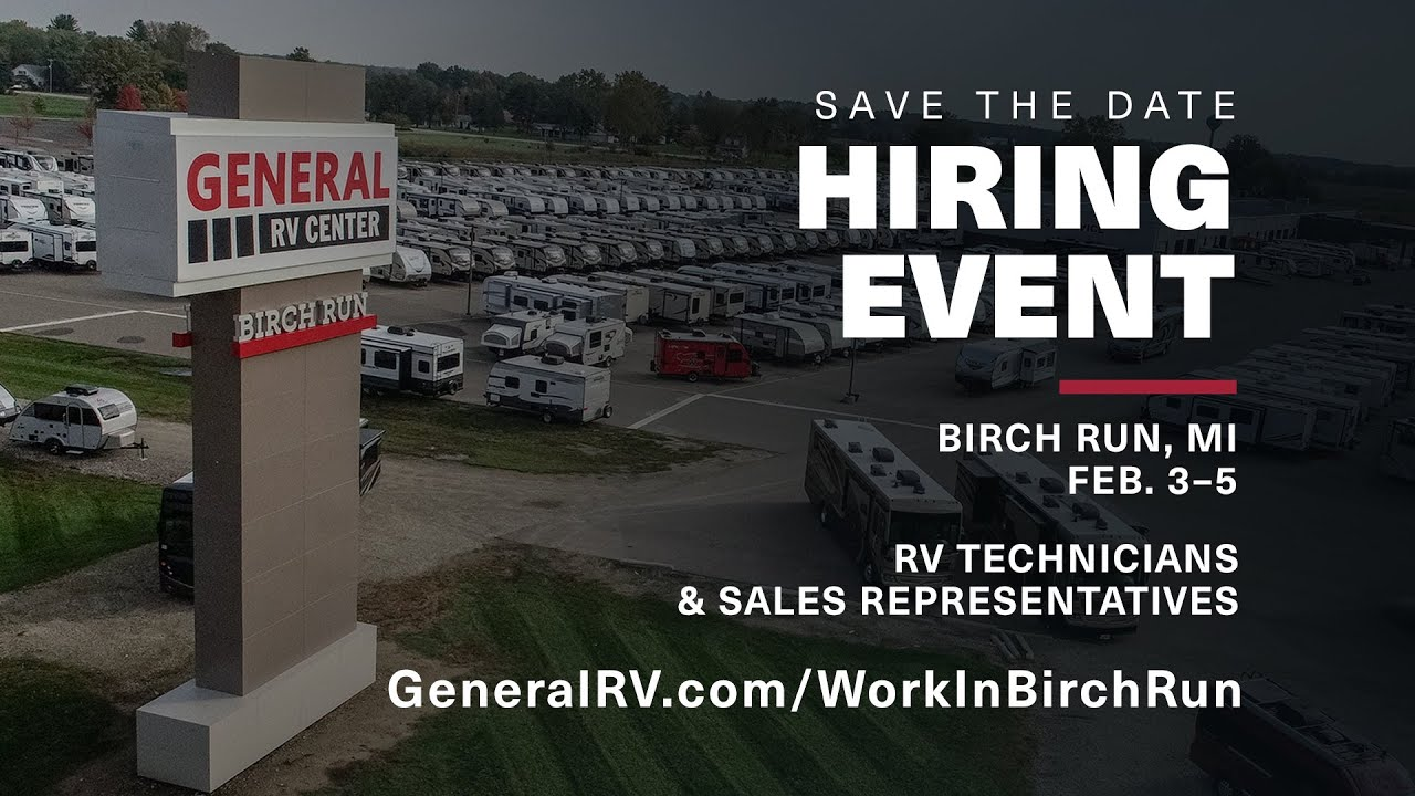 Hiring Event At General RV
