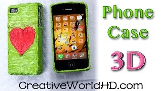How to Make Heart Phone Case(Flexy Plastic) - 3D Printing Pens Creations DIY Tutorial