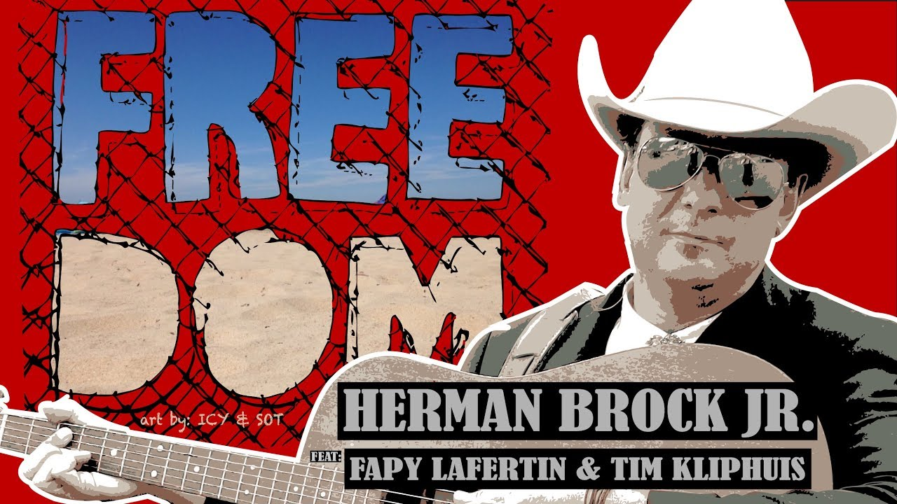 FREEDOM – Herman Brock Jr. (OFFICIAL MUSIC VIDEO) feat Fapy Lafertin & Tim Kliphuis
