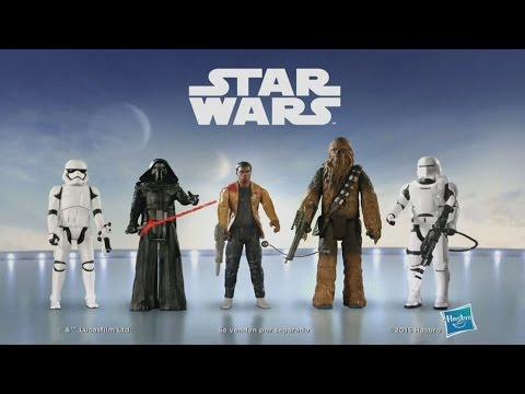 Star Wars Figuras Hasbro Comercial Latino HD 2015