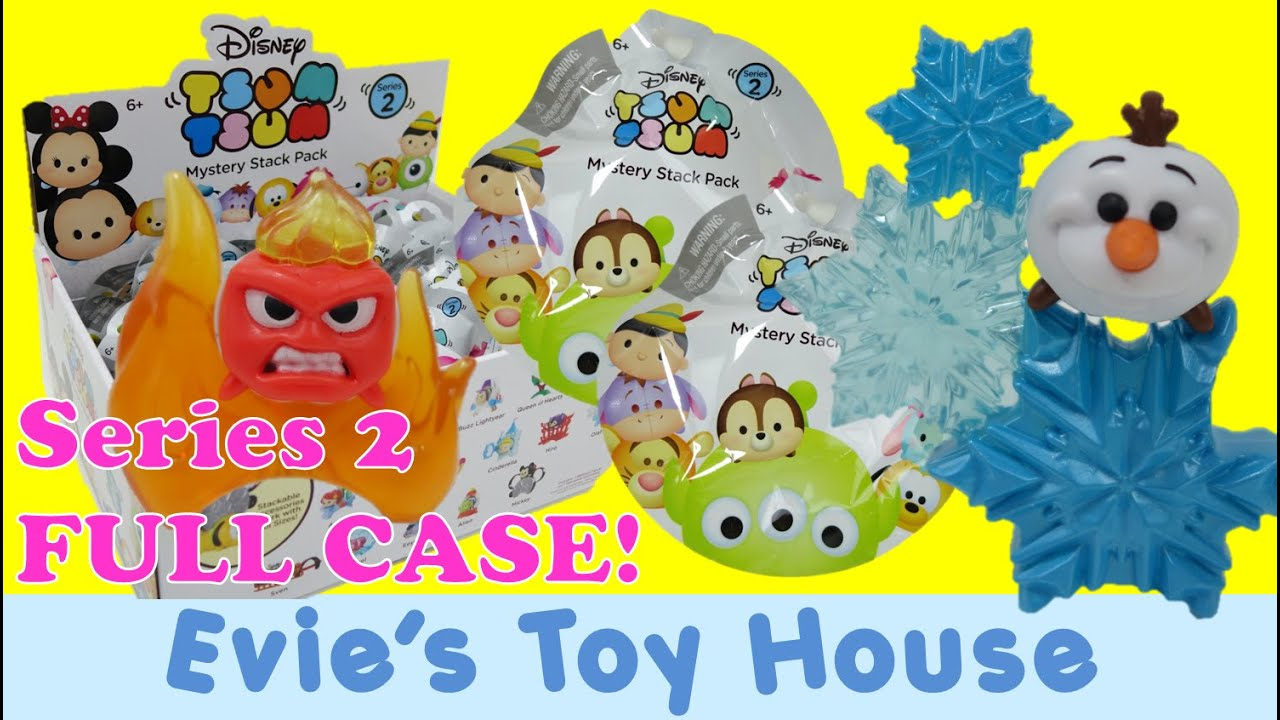 Disney Tsum Tsum Vinyl Mystery Stack Pack SERIES 2 Blind Bags | Evies Toy House