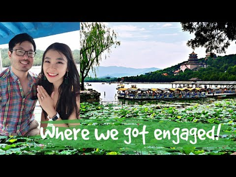 Beijing Vlog 4| The Summer Palace in Beijing China-Paddle Boat, Our Engagement place 颐和园
